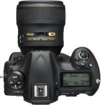 Nikon D5 35 mm Lens Top