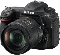 Nikon D500 16-80 mm Lens Kit Front Slant