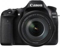 Canon 80D 18-135 mm Lens Kit Front