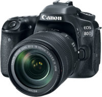 Canon 80D 18-135 mm Lens Kit Front Slant