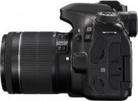 Canon 80D 18-55 mm Lens Kit Left Side