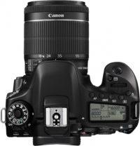 Canon 80D 18-55 mm Lens Kit Top