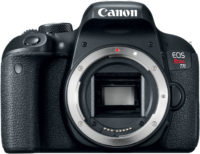 Canon Rebel T7i 800D Body Front