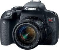 Canon Rebel T7i 800D 18-55 mm Lens Kit Front Slant
