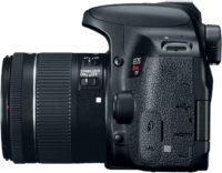 Canon Rebel T7i 800D 18-55 mm Lens Kit Left Side