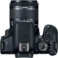 Canon Rebel T7i 800D 18-55 mm Lens Kit Top