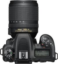 Nikon D7500 18-140 mm Lens Kit Top