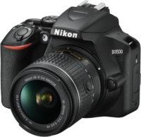 Nikon D3500 18-55 mm Lens Kit Front Slant