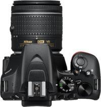 Nikon D3500 18-55 mm Lens Kit Top