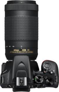 Nikon D3500 70-300 mm Lens Kit Top