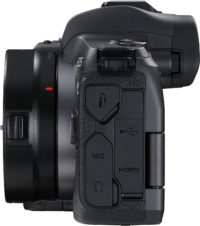 Canon EOS R Body Left Side